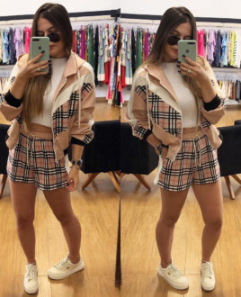 Short Burberry
