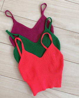 Cropped Tricot Colors
